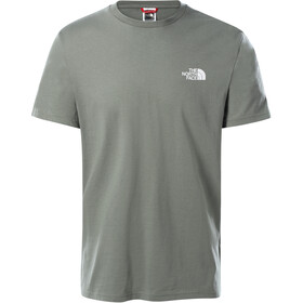 The North Face Simple Dome Camiseta Manga Corta Hombre, agave green